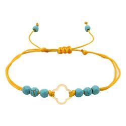 دستبند طلا 18 عیار زنانه مانچو کد bfg171