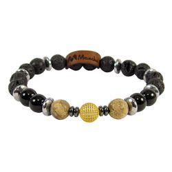 دستبند طلا 18 عیار زنانه مانچو کد bfg125