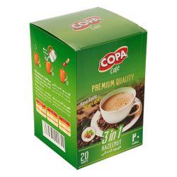 قهوه فندقی کوپا مقدار 18 گرم بسته 20 عددی