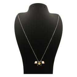 گردنبند طلا 18 عیار زنانه مانچو کد sfgs011