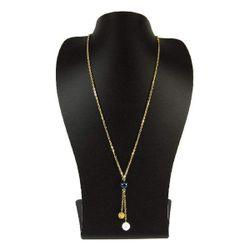 گردنبند طلا 18 عیار زنانه مانچو مدل sfg630