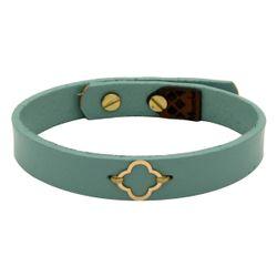 دستبند طلا 18 عیار زنانه مانچو کد bfg198