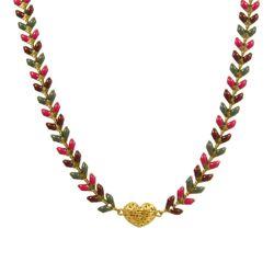 گردنبند طلا 18 عیار زنانه مانچو کد SFG641