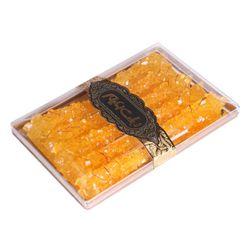 نبات چوبی کریستال زعفرانی زعیم بسته 10 عددی