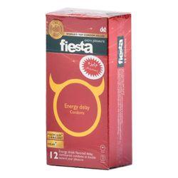 کاندوم انرژی تاخیری فیستا مدل Energy Delay بسته 12 عددی