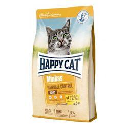 غذای خشک گربه هپی کت مدل آنتی هربال مرغ وزن 10 کیلوگرم