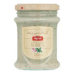کشک سمیه با طعم سیر و نعنا مقدار 230 گرم