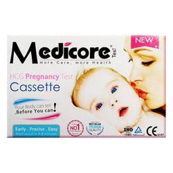 تست بارداری مدیکور مدل Cassette 99.8%