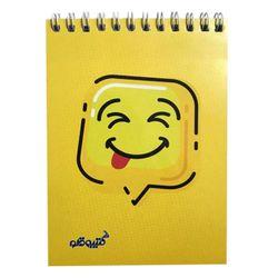 دفتر یادداشت 50 برگ کتیبه قلم مدل ایموجی babyish کد AR243