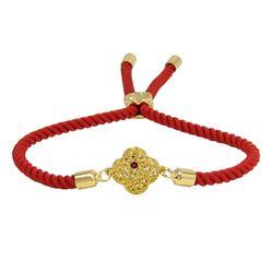 دستبند طلا 18 عیار زنانه مانچو کد bfg151