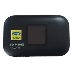 مودم 4G قابل حمل ایرانسل بی سیم و با سیم مدل FD-M40 به همراه 75 گیگابایت اینترنت 6 ماهه
