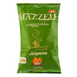 چیپس مزه مزمز با طعم هالاپینو مقدار 120 گرم