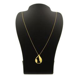 گردنبند طلا 18 عیار زنانه کاپانی طرح مادر و کودک کد KN045