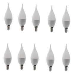 لامپ ال ای دی 8 وات پارس آوا ایرانیان مدل CY80 اشکی پایه E14 بسته 10 عددی