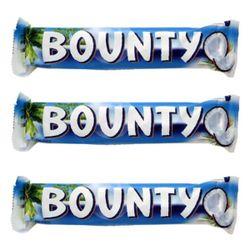 شکلات مغزدار بونتی مقدار 57 گرم بسته 3 عددی