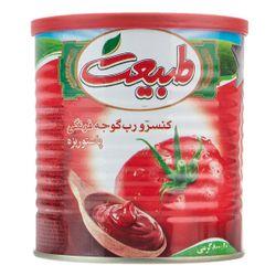 کنسرو رب گوجه فرنگی طبیعت وزن 800 گرم