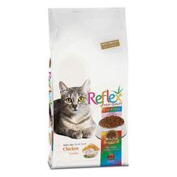 غذای خشک گربه رفلکس مدل مولتی کالر وزن 1500 گرم