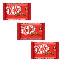ویفر با روکش شکلات کیت کت مقدار 41 گرم بسته 3 عددی