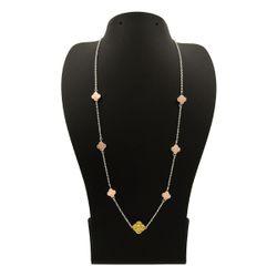 گردنبند طلا 18 عیار زنانه مانچو کد sfgs010