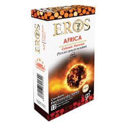 کاندوم اروس مدل Africa بسته 12 عددی