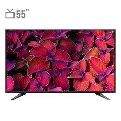 تلویزیون ال ای دی هوشمند اکسنت مدل ACT5519 سایز 55 اینچ با کیفیت تصویر Ultra HD - 4K
