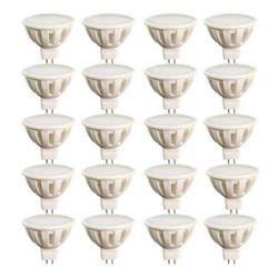 لامپ ال ای دی 5 وات مدل AB20 هالوژن پایه GU5.3 بسته 20 عددی