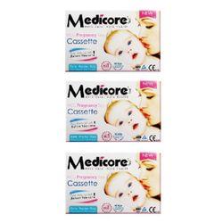 تست بارداری مدیکور مدل Cassette 99.8% بسته 3 عددی