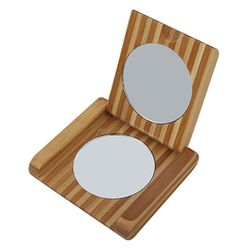 آیینه جیبی چوبی کد SAW1