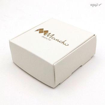 گوشواره طلا 18 عیار زنانه مانچو مدل efgs008