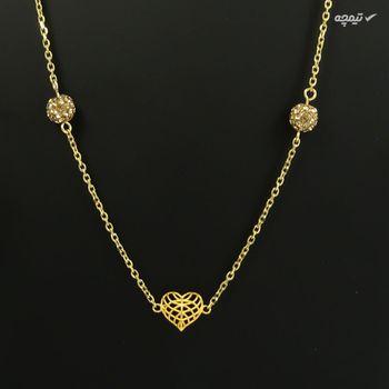 نیم ست طلا 18 عیار زنانه مانچو مدل smgs002