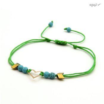 دستبند طلا 18 عیار زنانه مانچو کد bfg172