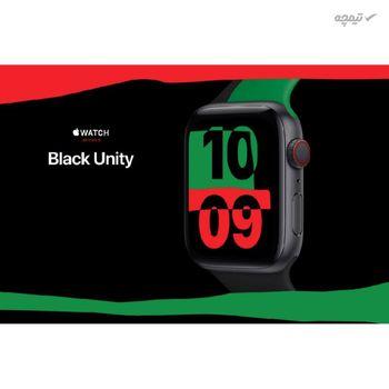 ساعت هوشمند اپل سری 6 مدل Black Unity 44mm