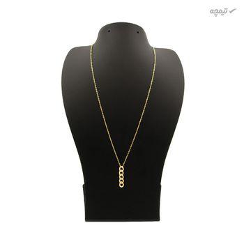 گردنبند طلا 18 عیار زنانه مانچو کد sfgs019
