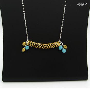 گردنبند طلا 18 عیار زنانه مانچو کد sfgs007