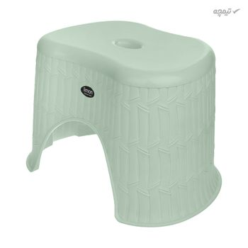 چهارپایه حمام لیمون مدل بامبو کد 01