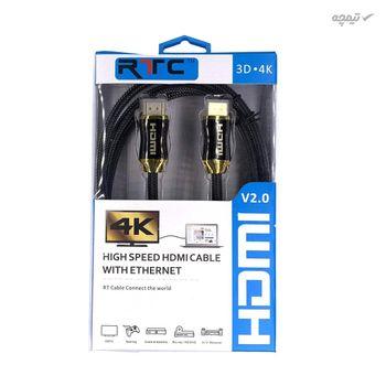 کابل HDMI آر تی سی مدل HG-2019 طول 1.5 متر