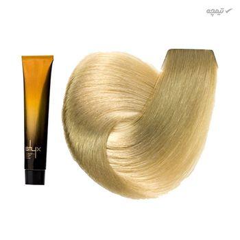 رنگ مو استایکس شماره 10 رنگ بلوند پلاتینی حجم 100 میلی لیتر