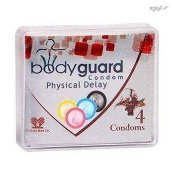 کاندوم ایکس دریم مدل Super Collar به همراه کاندوم بادی گارد مدل physical Delay اکسترا سیف بسته 4 عددی
