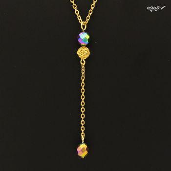 گردنبند طلا 18 عیار زنانه مانچو کد sfg647
