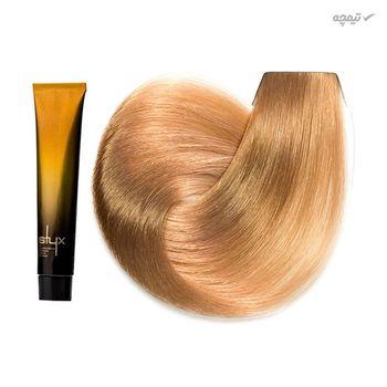 رنگ مو استایکس شماره 7T حجم 100 میلی لیتر رنگ بلوند تافی متوسط