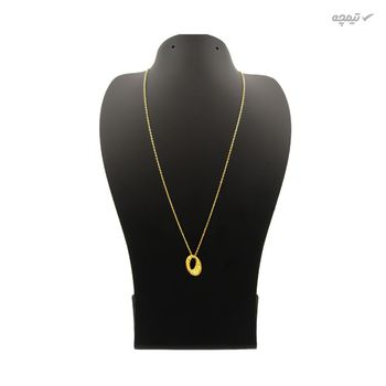 گردنبند طلا 18 عیار زنانه مانچو کد sfgs022