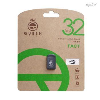 فلش مموری کوئین تک مدل FACT ظرفیت 32 گیگابایت با رابط USB 2.0