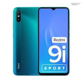 گوشی موبایل شیائومی مدل Redmi 9i Sport دو سیم کارت، ظرفیت 128 گیگابایت با رم 4 گیگابایت