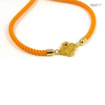 دستبند طلا 18 عیار زنانه مانچو مدل bfg152