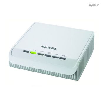 مودم روتر ADSL2 Plus زایکسل مدل P-660RU، با سیم