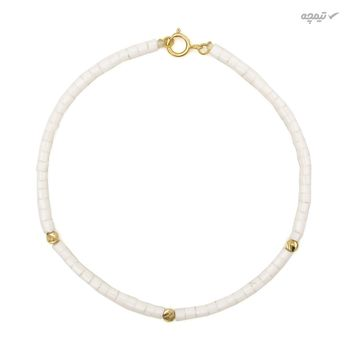 دستبند طلا 18 عیار زنانه مانچو کد bfgs011