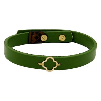 دستبند طلا 18 عیار زنانه مانچو کد bfg193