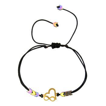 دستبند طلا 18 عیار زنانه مانچو کد bfg174