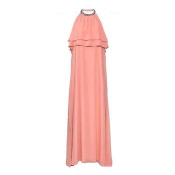 پیراهن مجلسی اسمارا مدل Pink2