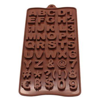 قالب شکلات طرح حروف مدل A-82